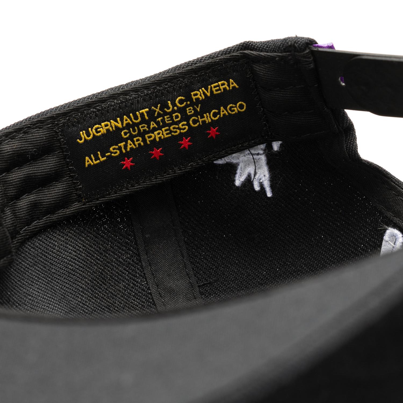 Jugrnaut Jugrnaut x J.C. Rivera x All Start Press Snap Back Grey