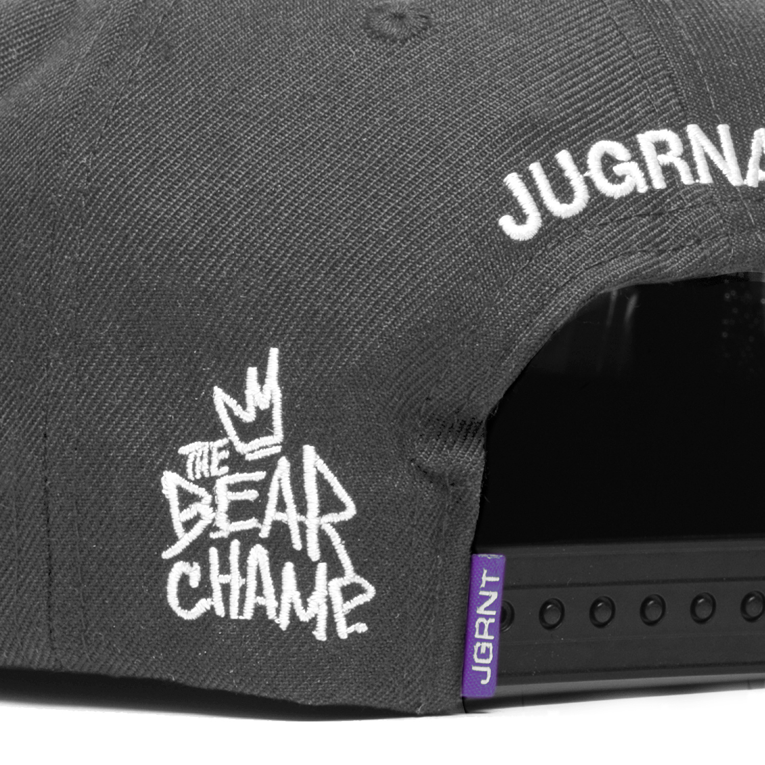 Jugrnaut Jugrnaut x J.C. Rivera x All Start Press Snap Back Grey