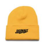 Jugrnaut Jugrnaut Shield / Script Beanie Gold