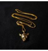 Jugrnaut Jugrnaut x Veritas  Black Cat 24 kt. Yellow Gold