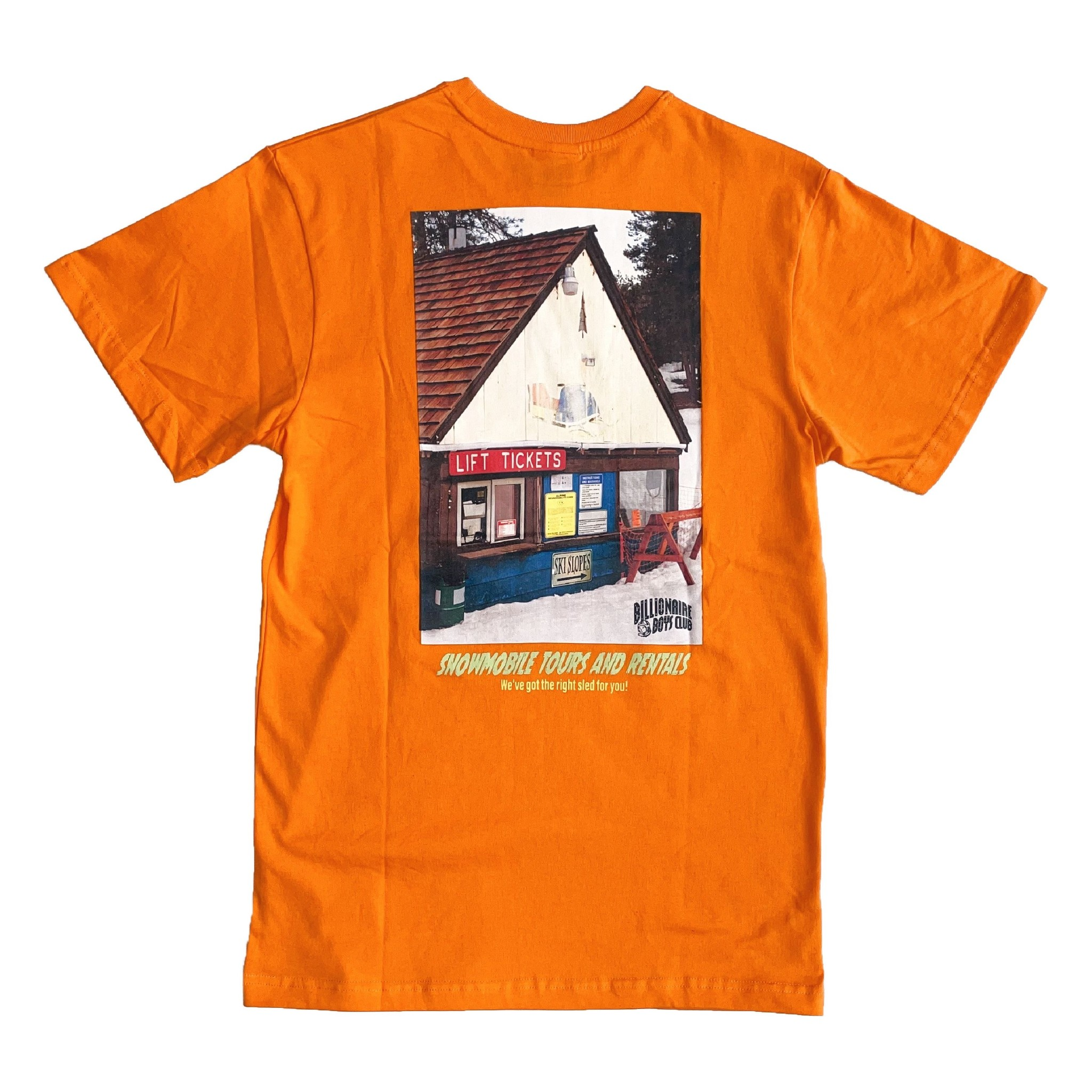 BBC BBC BB Mobile SS Tee Orange