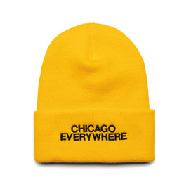 Jugrnaut Jugrnaut Chi Everywhere / Shield Beanie Gold