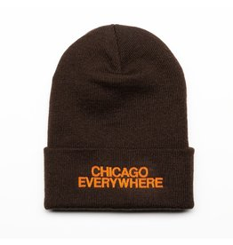 Jugrnaut Jugrnaut Chi Everywhere / Shield Beanie Brown