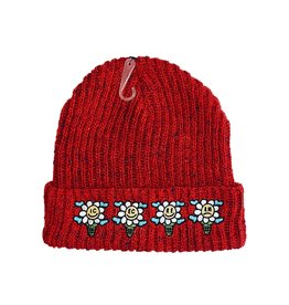 Icecream Icecream Speck knit Beanie Red