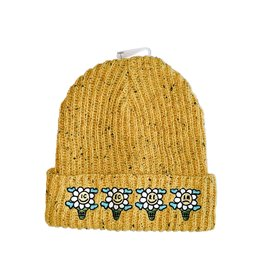 Icecream Icecream Speck knit Beanie Yellow