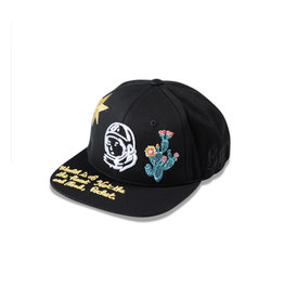 BBC BBC BB Wave Twill Hat Black