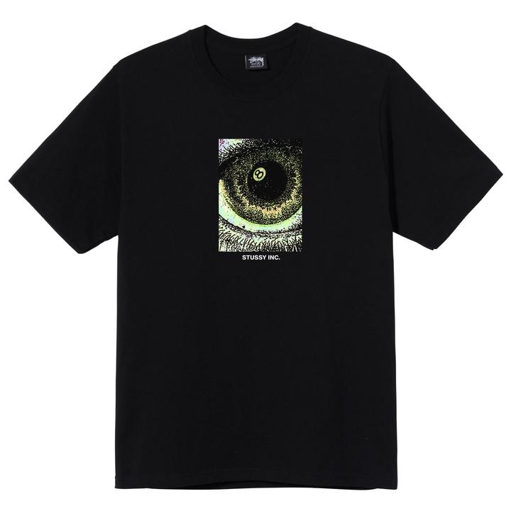 Stussy Stussy Acid Eye Tee Black