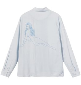 Stussy Stussy Pin Up Girl LS Button Up  Grey