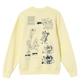 Stussy Stussy Bad Dreams Crew Yellow