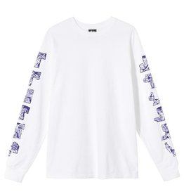 Stussy Stussy Sculptures LS Tee White