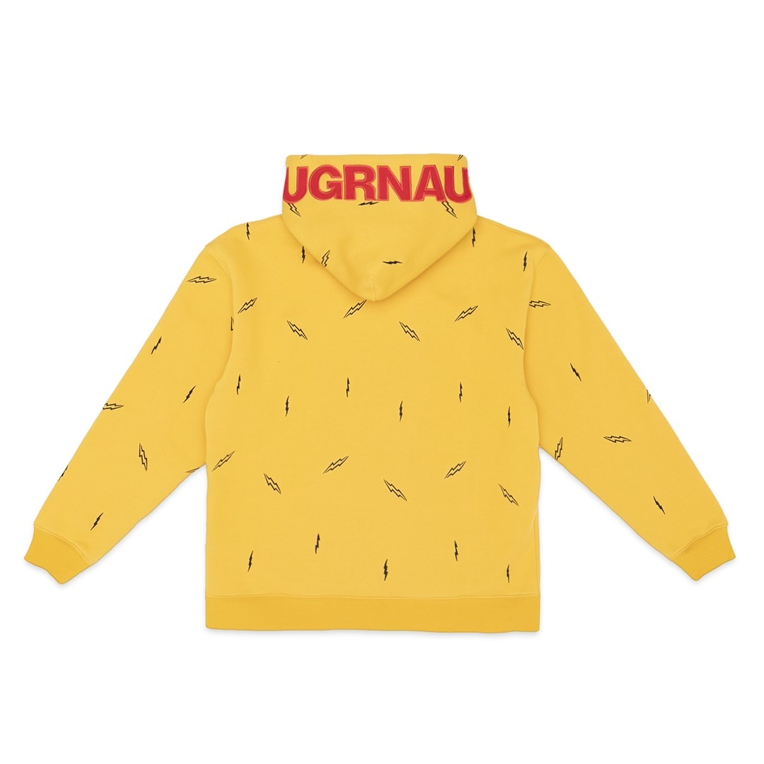 Jugrnaut Jugrnaut Lightning Everywhere Hoody Yellow