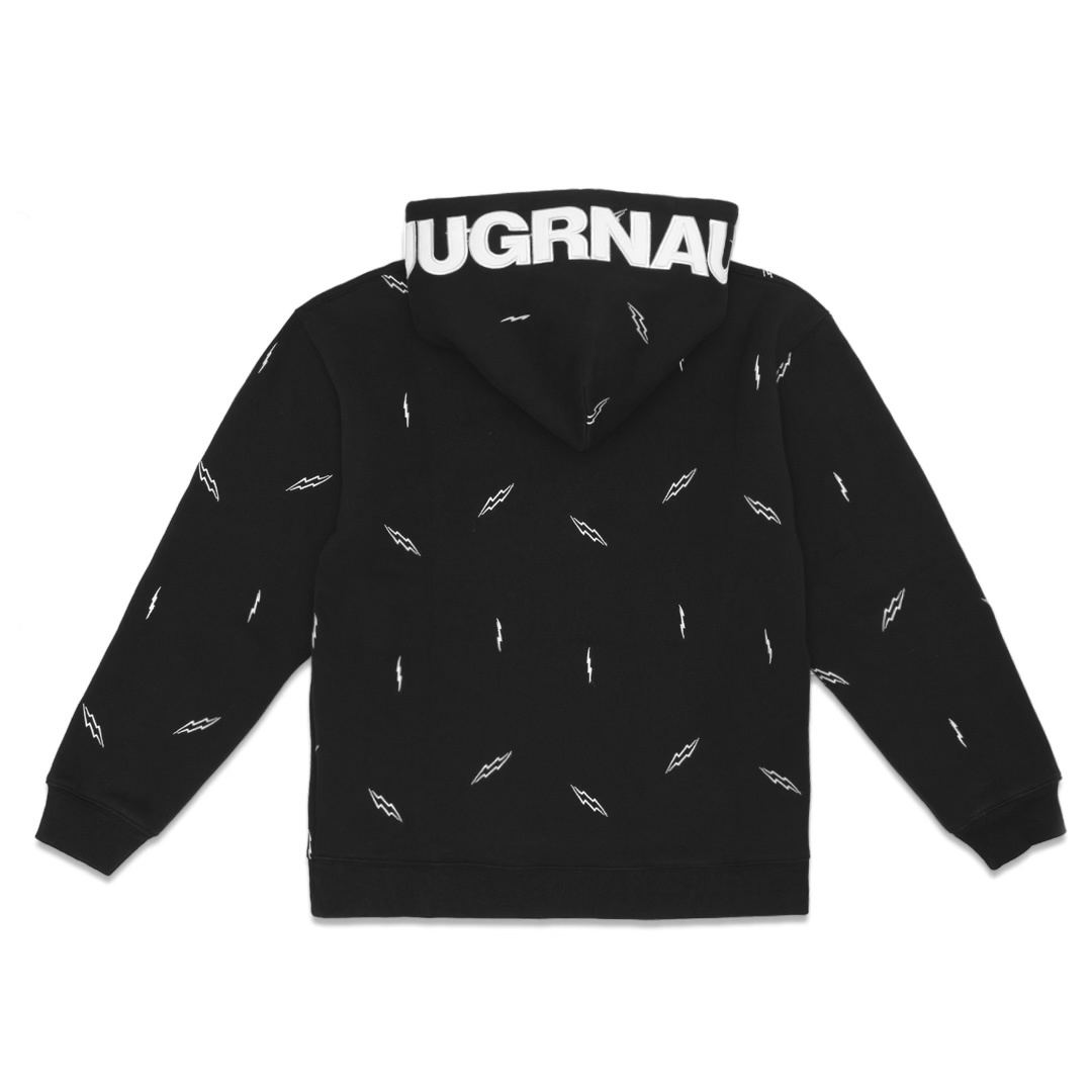 Jugrnaut Jugrnaut Lightning Everywhere Hoody Black