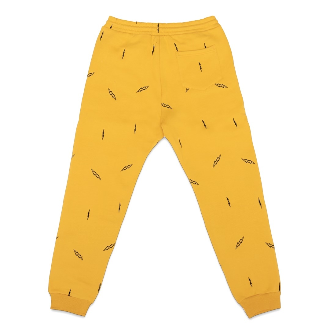 Jugrnaut Jugrnaut Lightning Everywhere Joggers Yellow