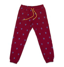 Jugrnaut Jugrnaut All Over Shield Hvy Pants Burgundy
