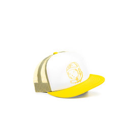 BBC BBC BB Helmet Trucker Hat Yellow