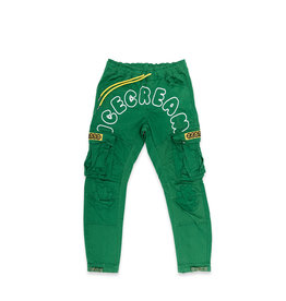 Icecream Icecream Clock Cargo Pant Pine Green