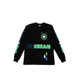 Icecream Icecream Drip LS  Black
