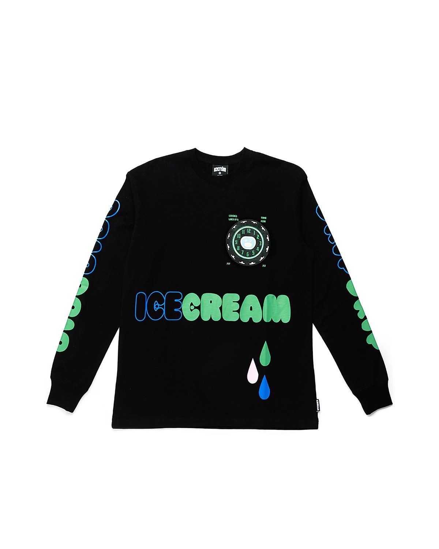 Icecream Icecream Drip LS  Black