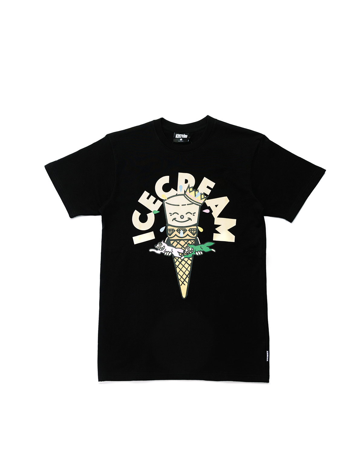Icecream Icecream Friends Tee Black
