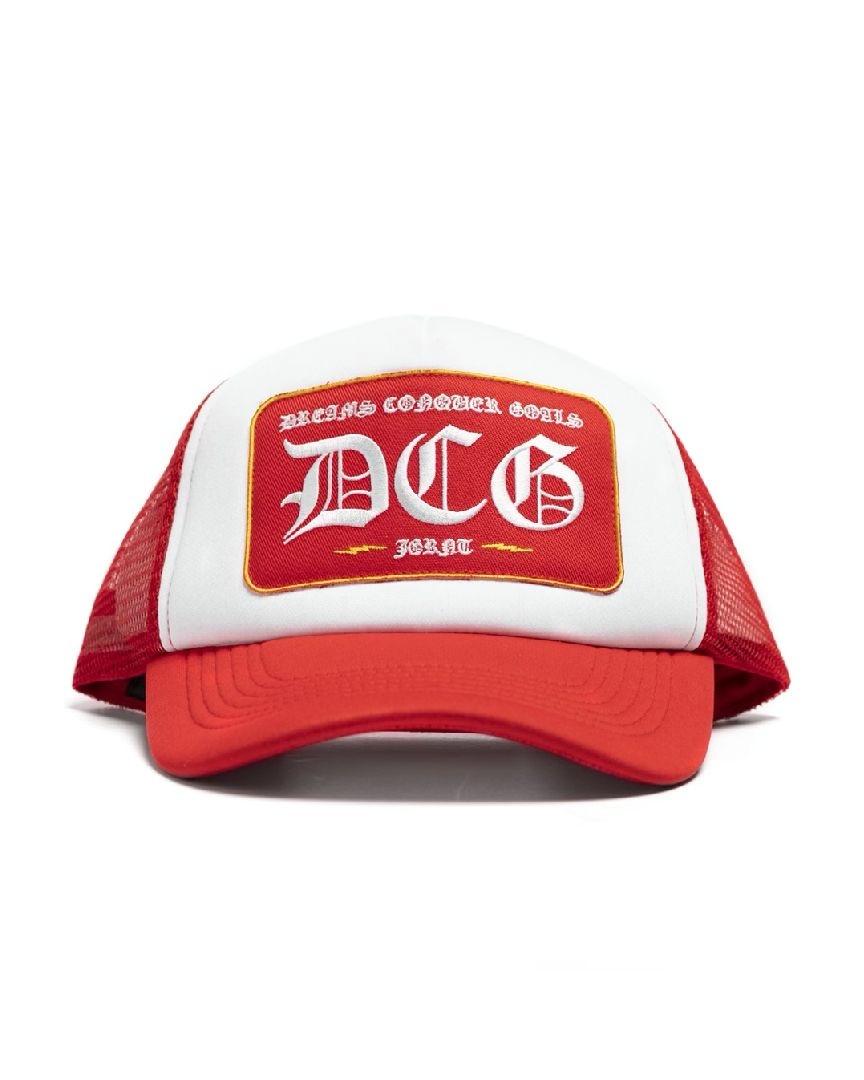 Jugrnaut Jugrnaut x DCG Trucker Hat Red