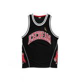 Icecream Icecream Shot Clock Basketball Tank Black