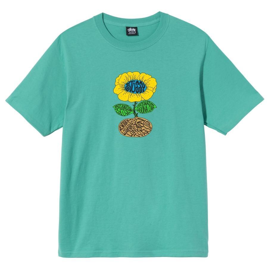 Stussy Stussy Sunflower Tee Green