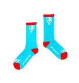 Jugrnaut Jugrnaut Shield  Socks Turquoise