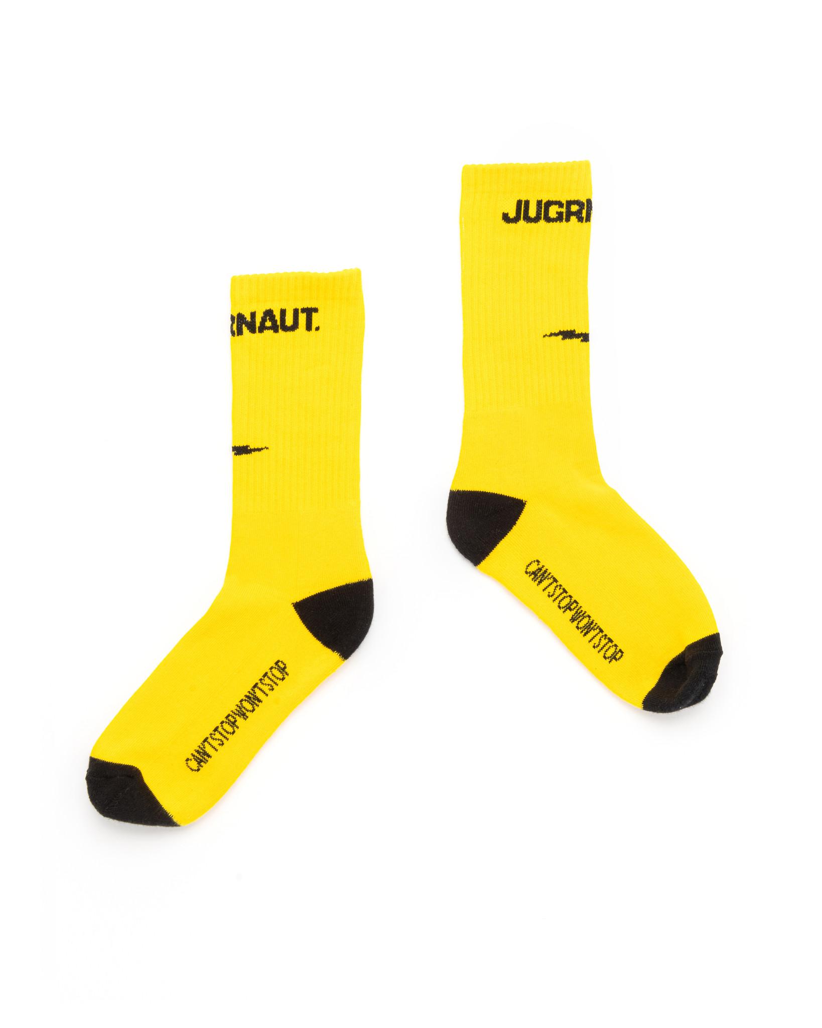 Jugrnaut Jugrnaut Bolt Socks yellow