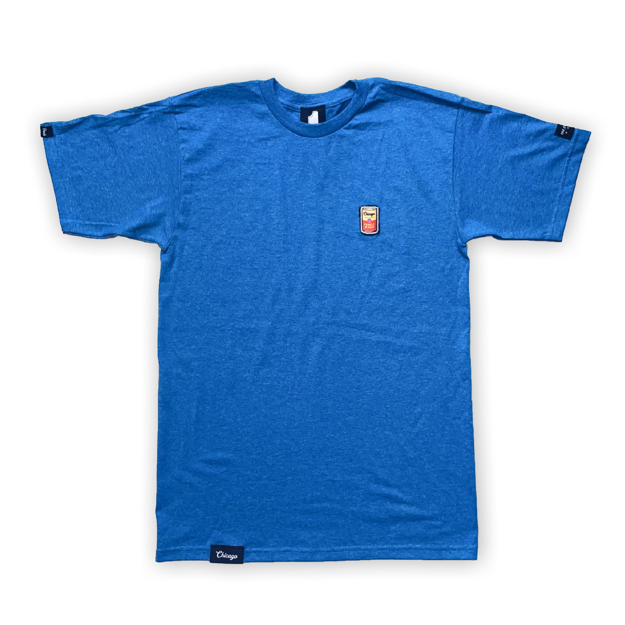 Panels Panels Americana Campbell patch tee Blue