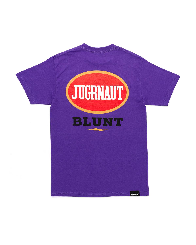 Jugrnaut Jugrnaut Blunt Tee Purple