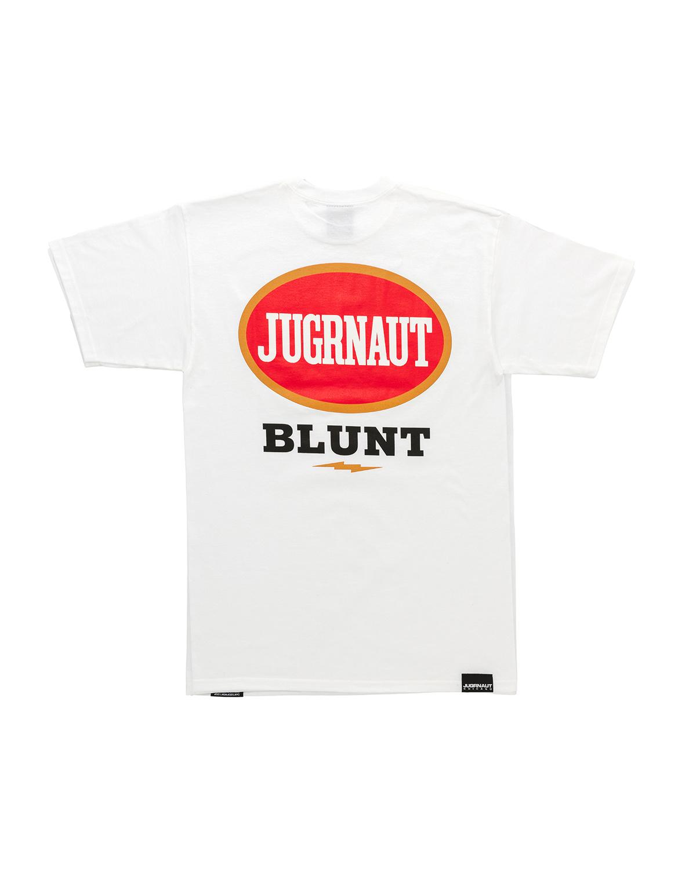 Jugrnaut Jugrnaut Blunt Tee White