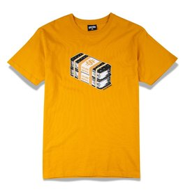 Icecream Icecream Bands SS Tee Golden Yellow