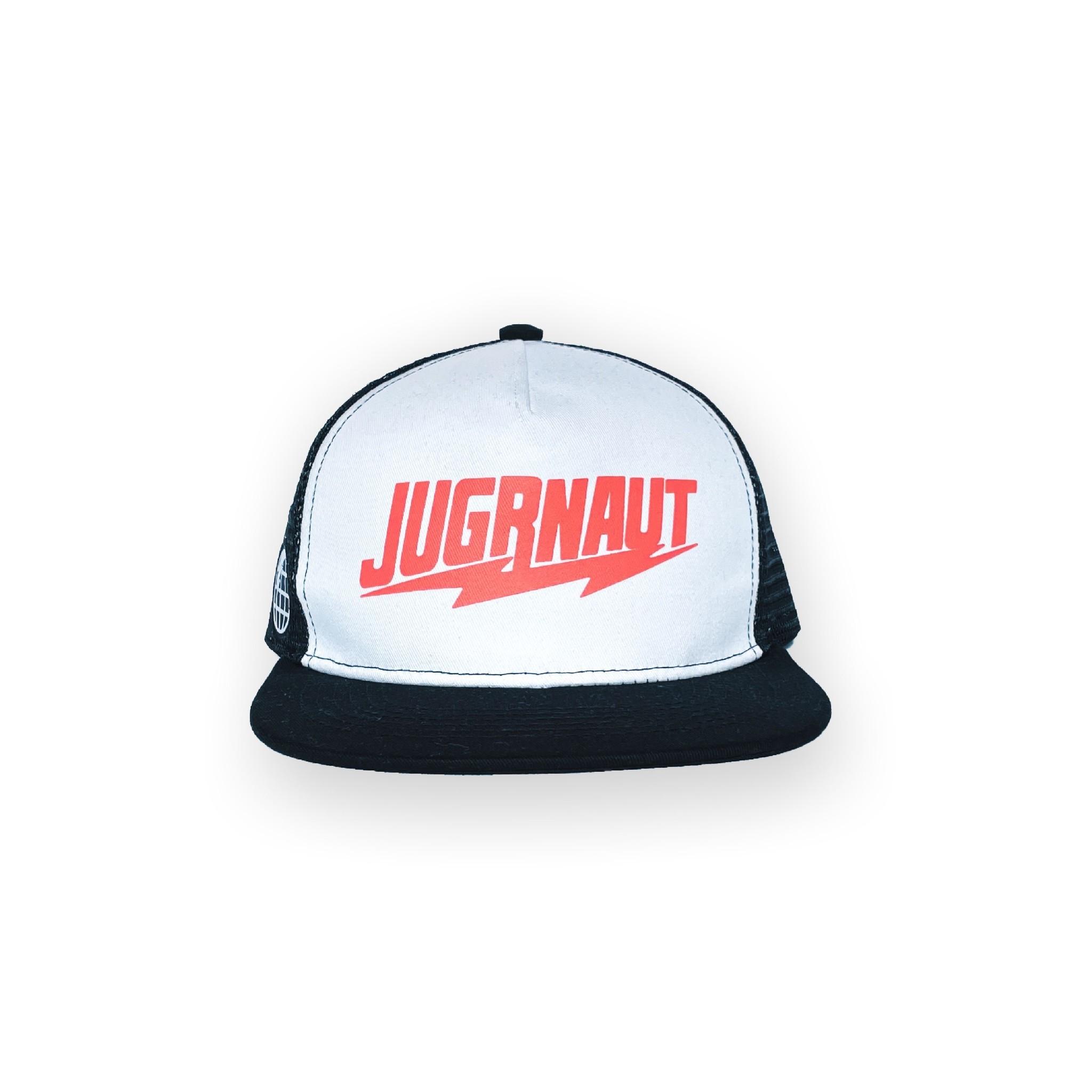 Jugrnaut Jugrnaut Lightning Logo Trucker