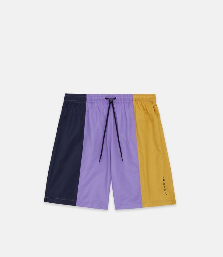 10 Deep 10 Deep Supply Nylon Shorts  Multi