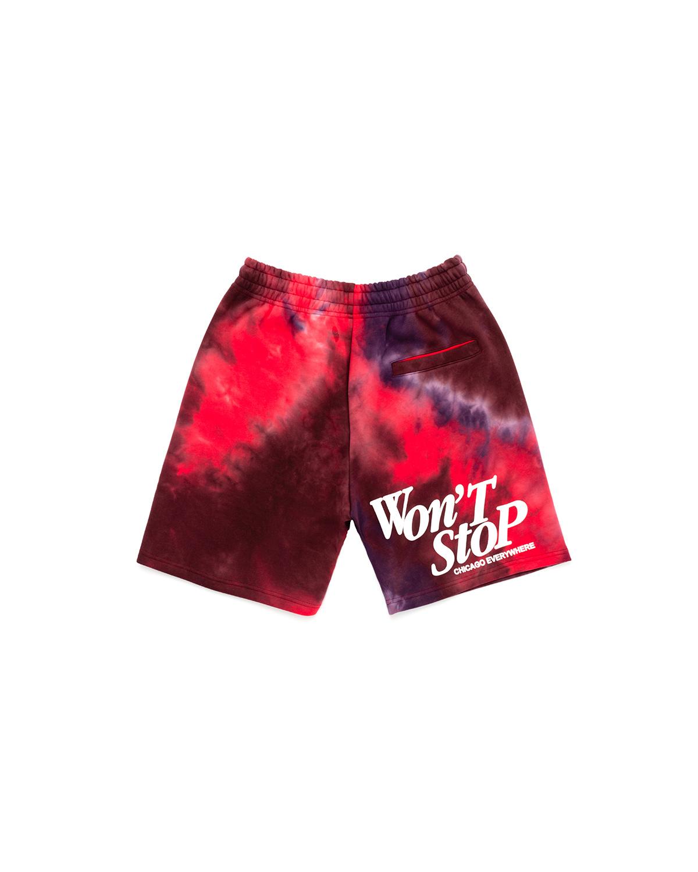 Jugrnaut Jugrnaut Triumph Tie Dye Shorts