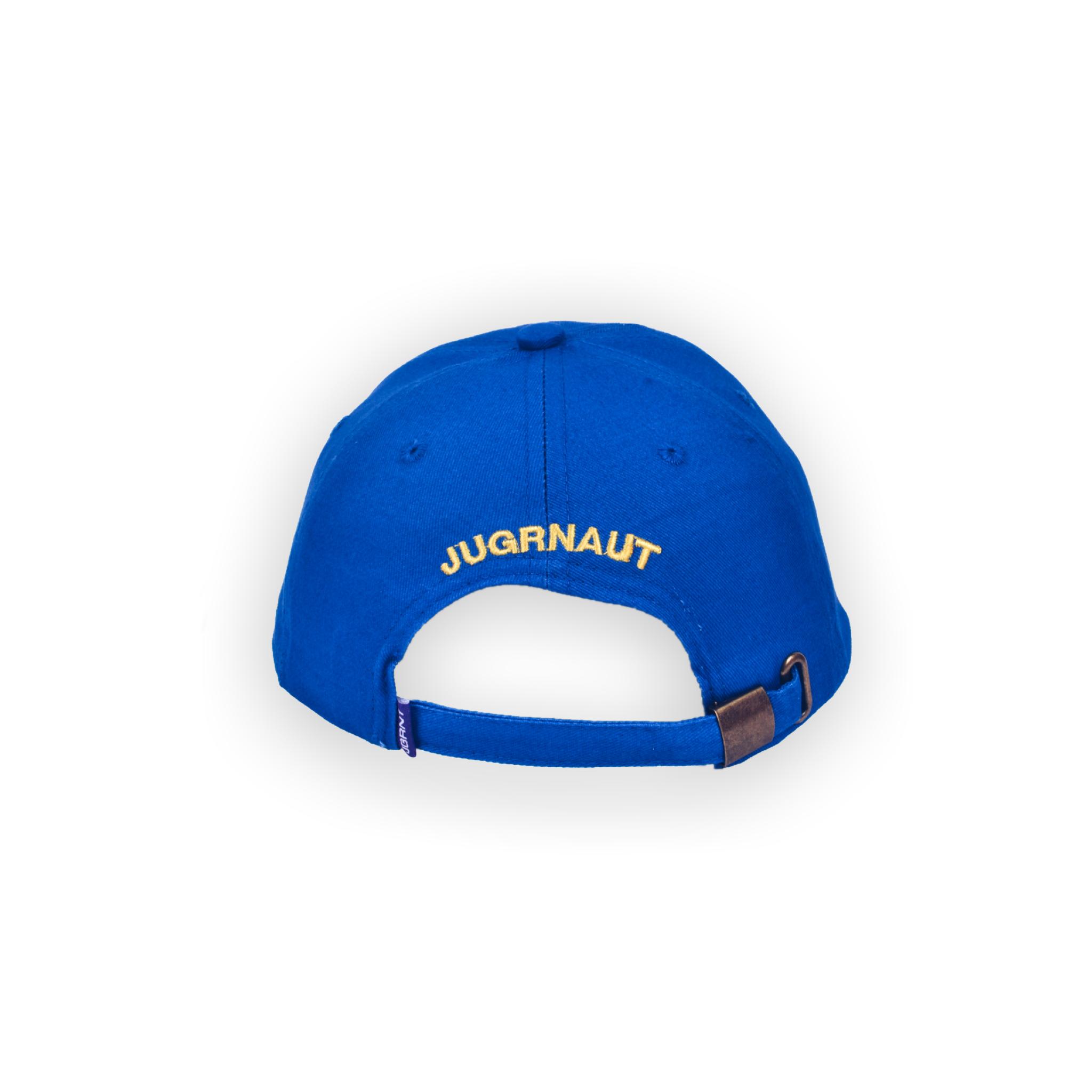 Jugrnaut Jugrnaut Camous Logo Felt Cap Blue
