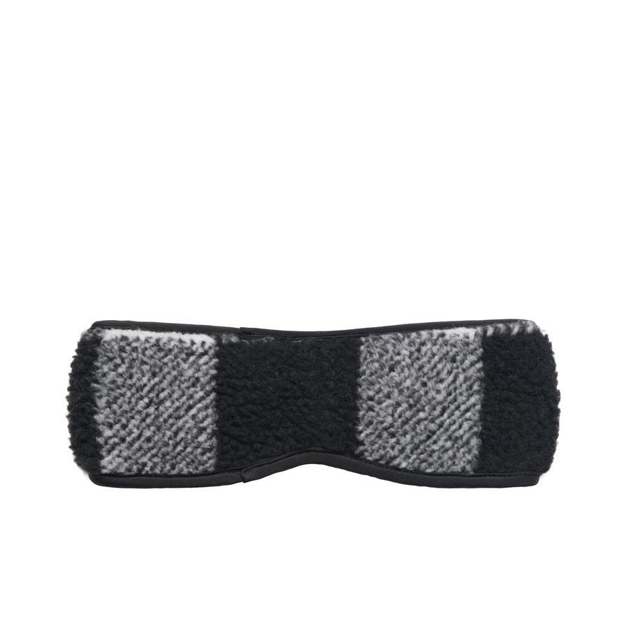Stussy Stussy Plaid Polar Fleece Headband Black