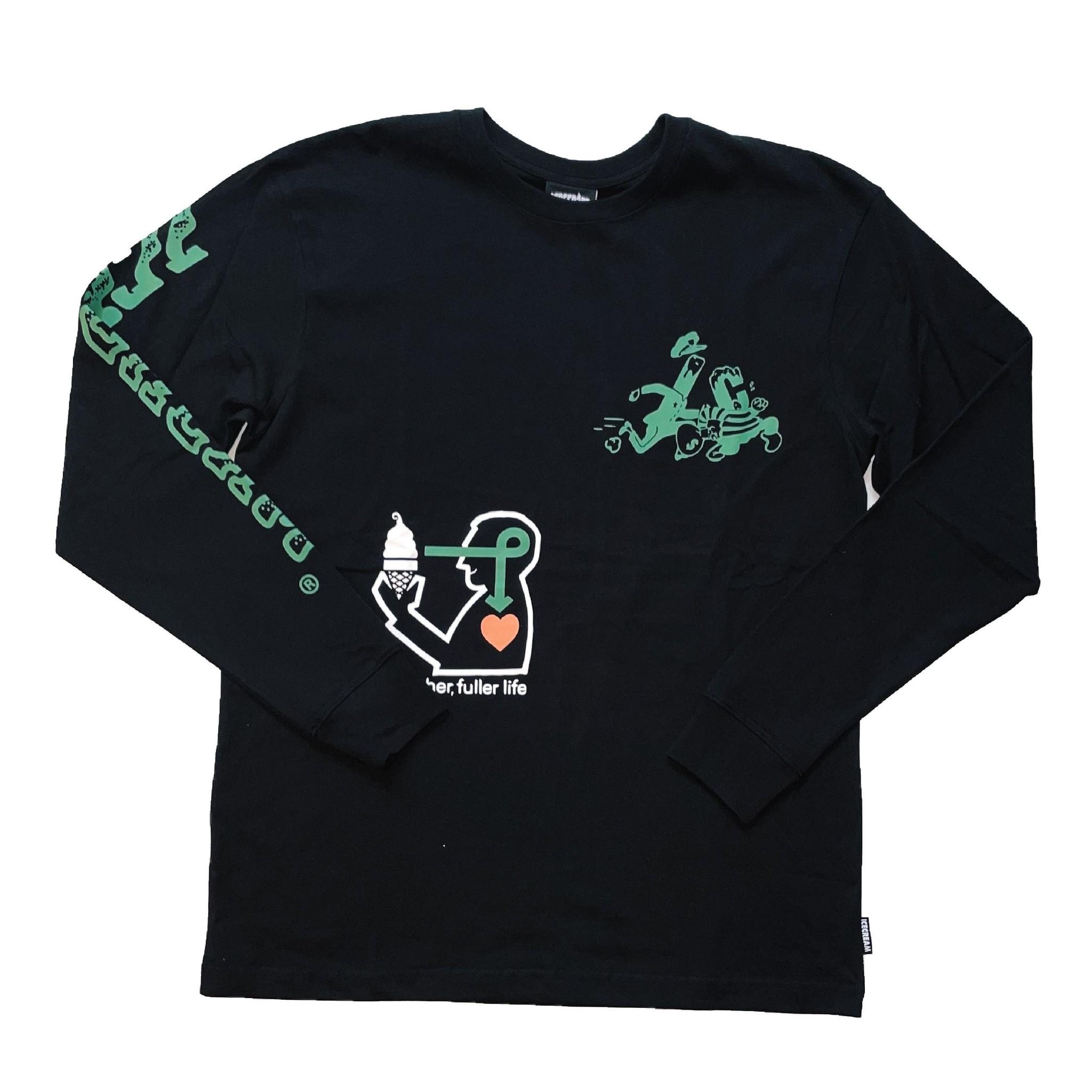 Icecream Icecream Richer LS Knit Black