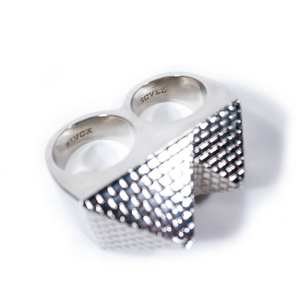 Black Scale Black Scale Pyramid Two-Ring