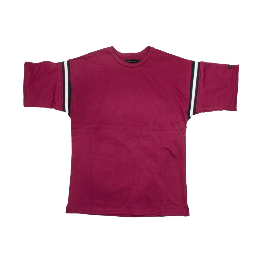 Raised By Wolves Raised by Wolves Richardson Football Shirt Oxblood