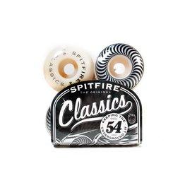 Skate Wheels Spitfire Classics White /Silver