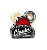 Spitfire Skate Wheels Spitfire Classics White /Silver