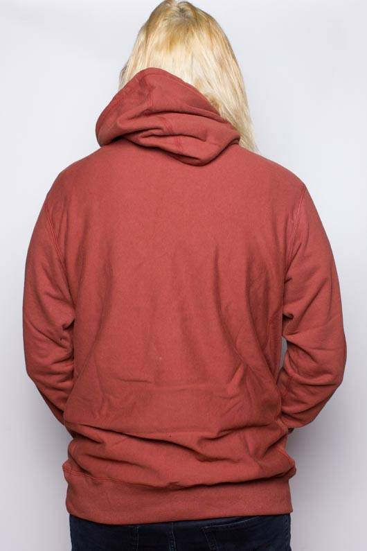 Raised by Wolves Shatter Hoody Brick Red