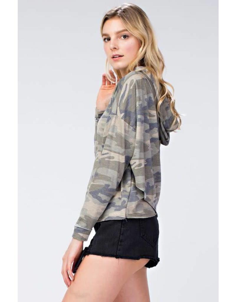 Blend In Camo Hoodie