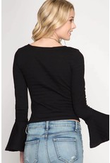 Handle With Flare Top
