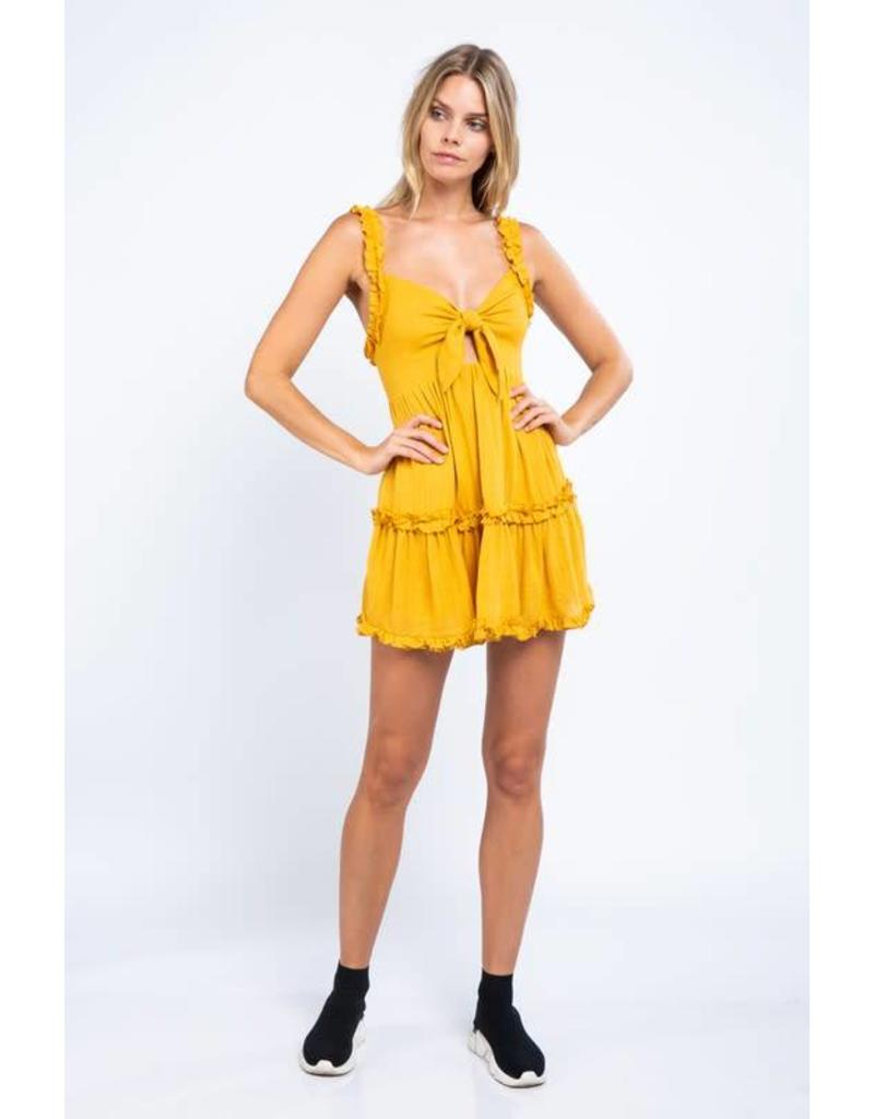 Meet Me at the Tailgate Dress
