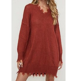 Mark My Words Sweater Dress