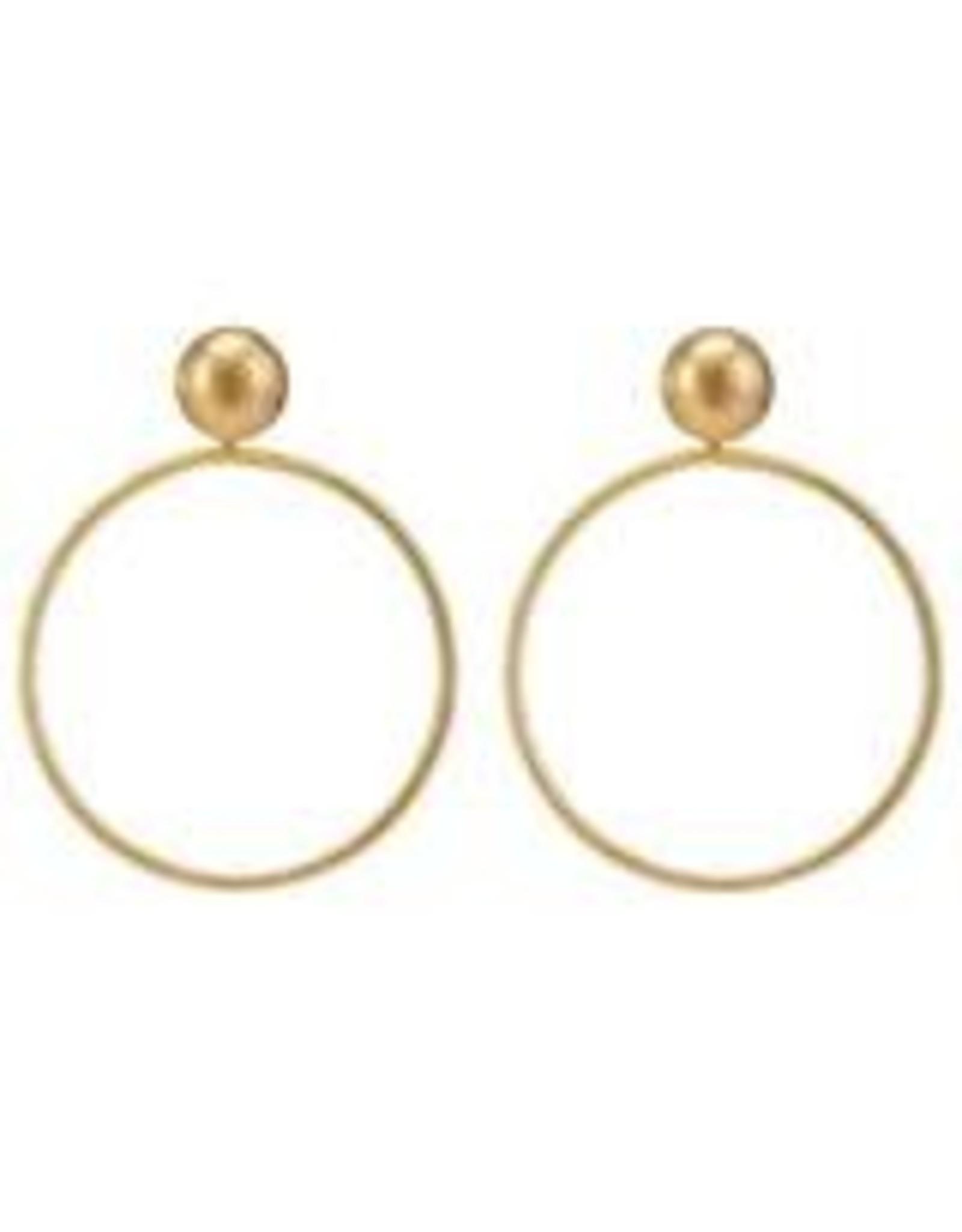 Sheila Fajl Mini Visage Earrings
