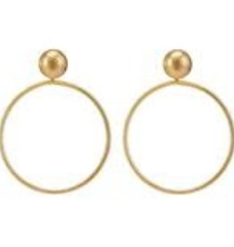 Sheila Fajl Mini Visage Earrings