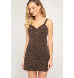 Aria Cheetah Dress